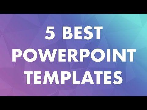 Best Powerpoint Templates 5 Best Ppt Presentation Themes Best