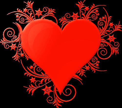 Zoom dise o y fotografia corazones con efectos para san - Corazones de san valentin ...