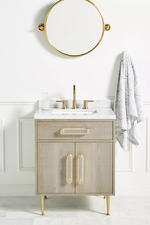 Photo of Deluxe Tamboured Powder Bathroom Vanity