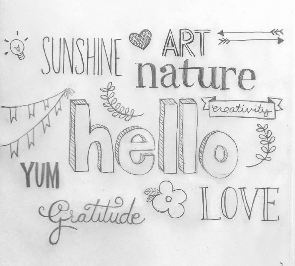 Hand Lettering Fonts  Myfonts Retro Script Typefaces