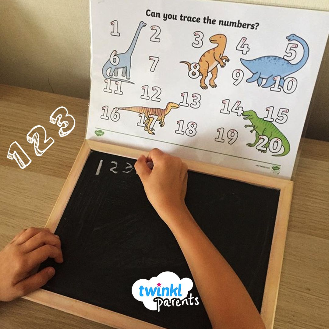 1 2 3 4 Practice Writing Letters At Home Using Our