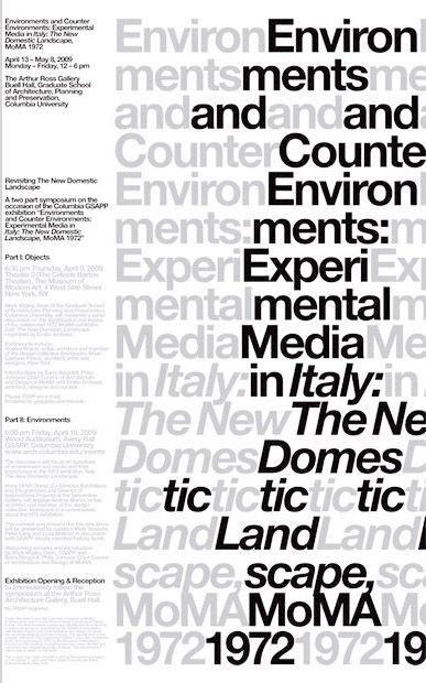 Env & Counter-Env: exhibition graphics, 2009 MTWTF for