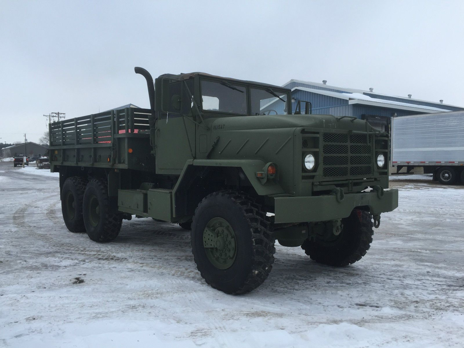 Bmy harsco military 5 ton cargo truck for sale