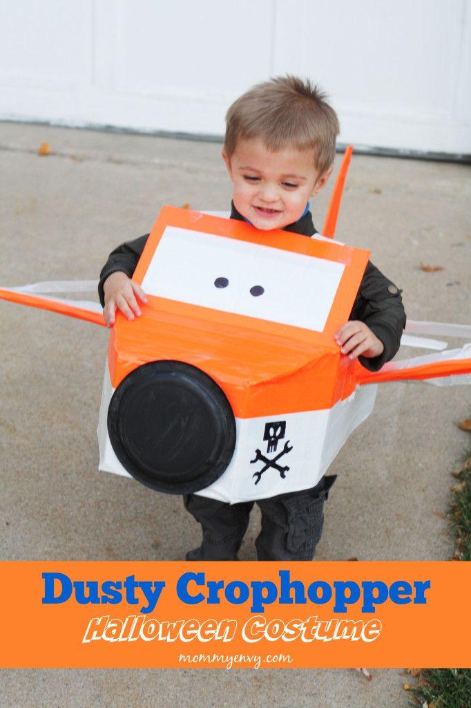 So cute! Dusty Crophopper Halloween Costume #halloweencostume #planes #dustycrophopper #ducttape