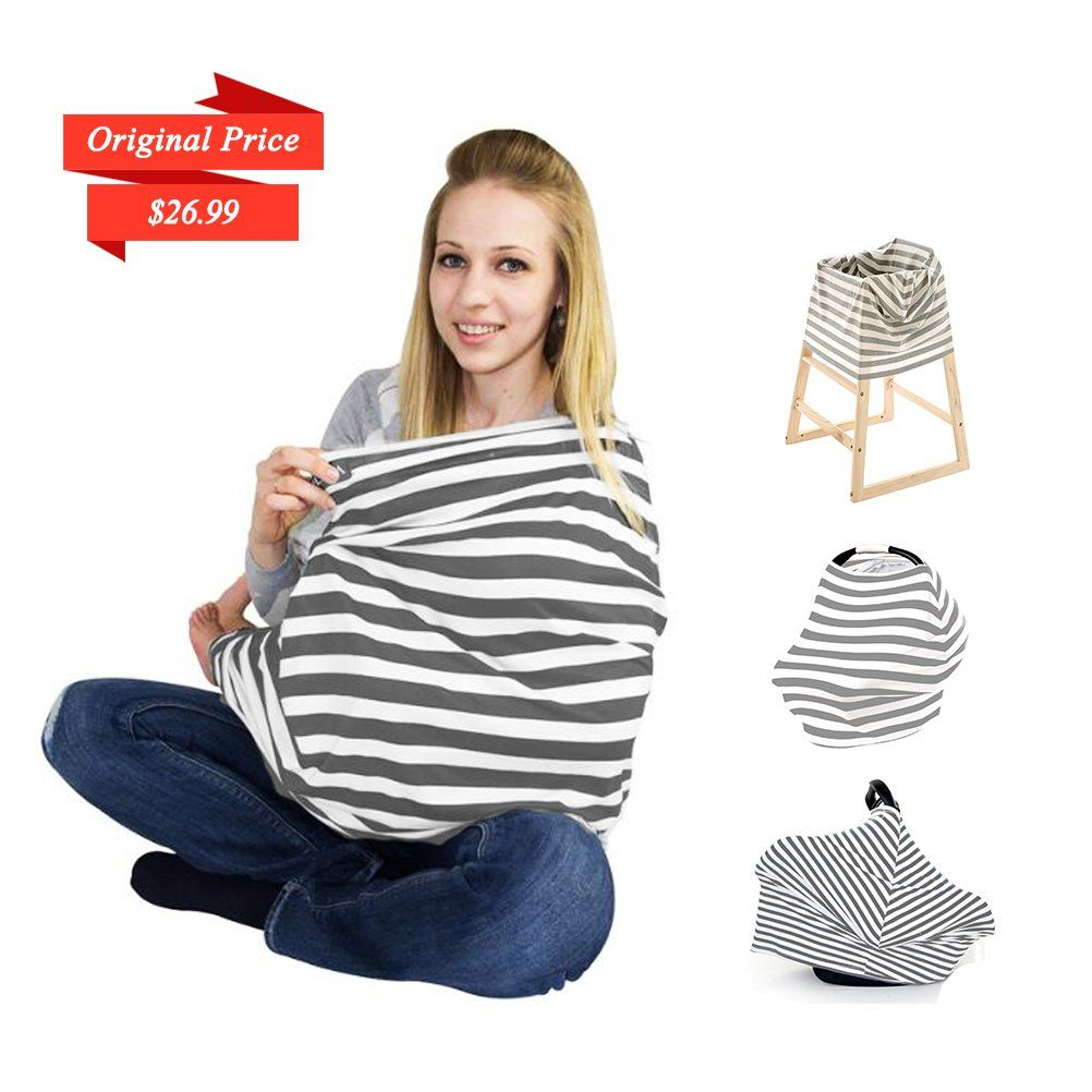 75fd9bc33a4 breastfeeding cover - COS2BE MULTIFUNCTIONAL NURSING COVER Stretchy  Infinity Breastfeeding Scarf Baby Infant Car Seat Cover