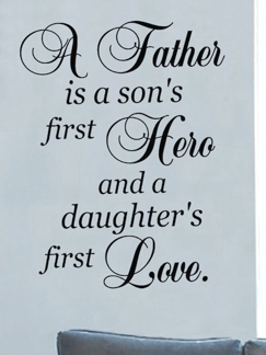 Dad's are CRUCIAL to a child's development - ESPECIALLY a girl - WAYYYY more so than a mother.  Mom's - PLEASE do NOT feel threatened by this & encourage it if you want your daughters to ever be able to experience a HEALTHY LOVING relationships & it's CRUCIAL that YOU show love/respect for him - EVEN if you're no longer together!!!