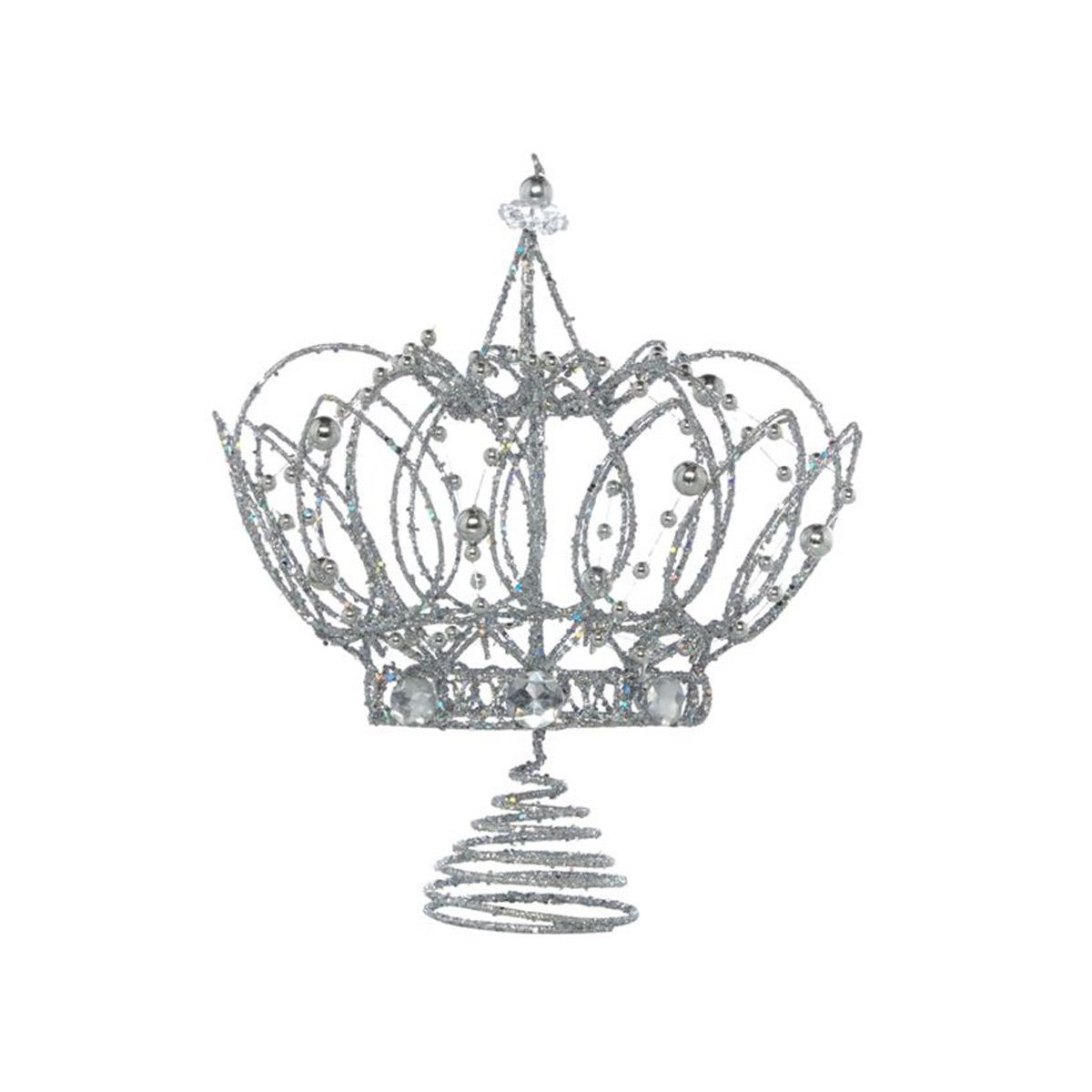 Silver Crown Tree Topper, £10.50, House of Fraser. More decoration ...