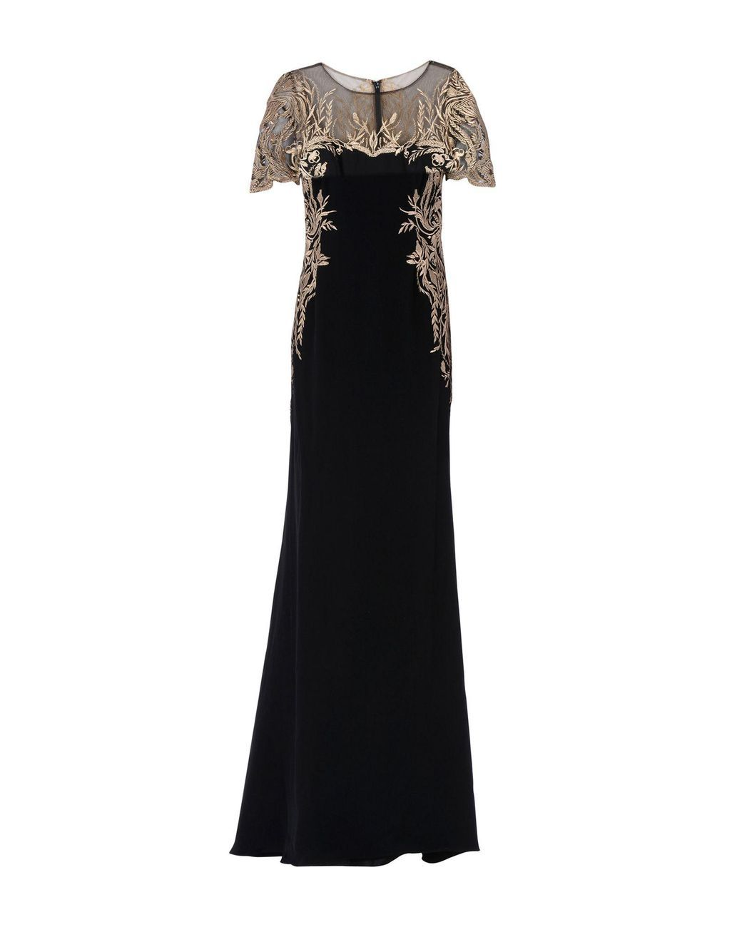 c5926637b742 Marchesa notte - Black Long Dress - Lyst