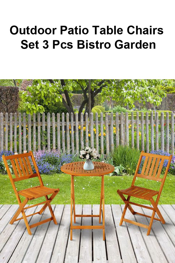 Prime Details About 3 Pcs Folding Bistro Table Chairs Set Garden Bralicious Painted Fabric Chair Ideas Braliciousco