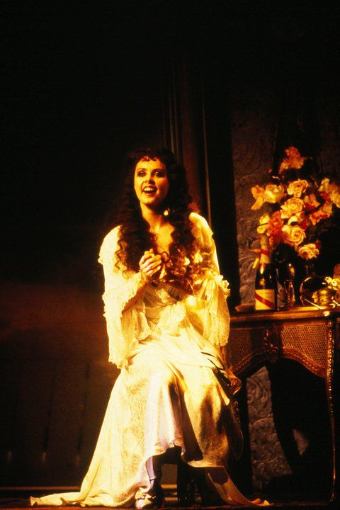 Sarah Brightman As Christine Daae In The Phantom Of The Opera