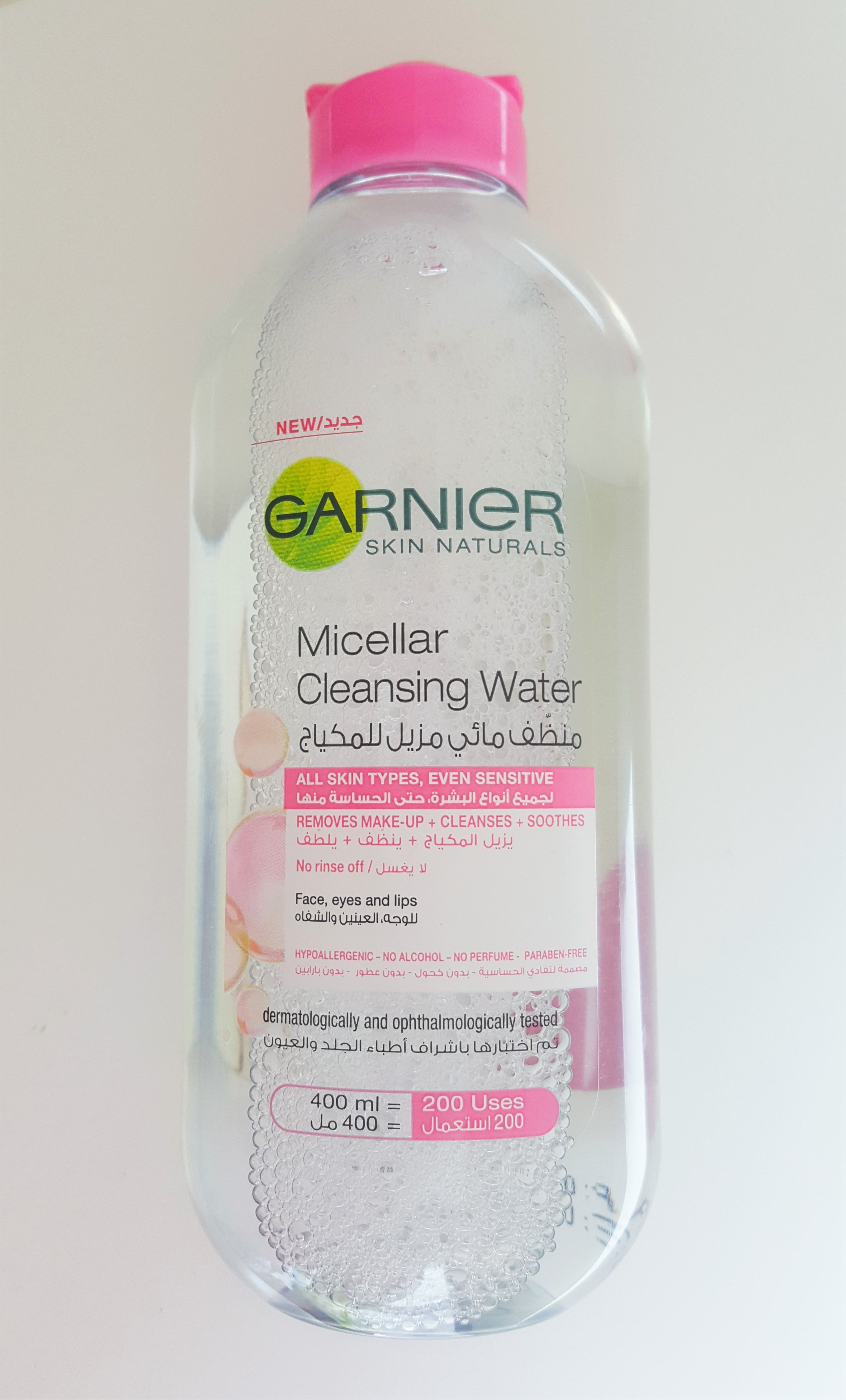 Garnier Micellar Micellar Water مزيل المكياج من غارنييه Read Full Review اقرأ المزيد Micellar Water Water Cleanse Perfume