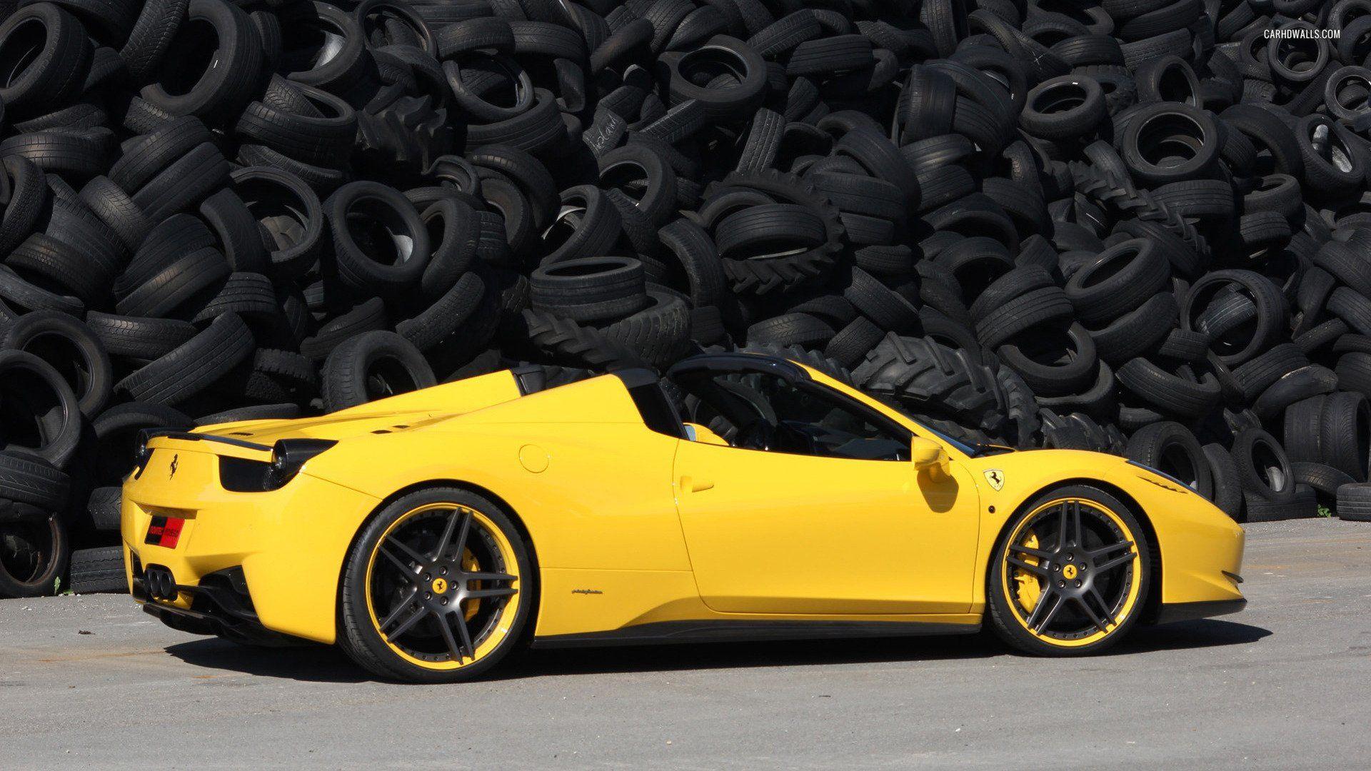 Ferrari Spider First Drive High Resolution Wallpaper