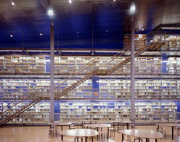 Delft University of Technology Library, Netherlands