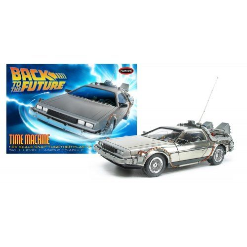 Action Figure Vehicles Polar Lights Back To The Future Time