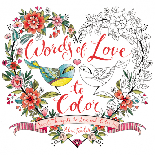 Words of Love to Color - Eleri Fowler - Paperback | Pinterest ...