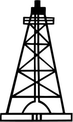 How To Draw An Oil Rig - ClipArt Best | Oil rigs | Oil rig, Oilfield