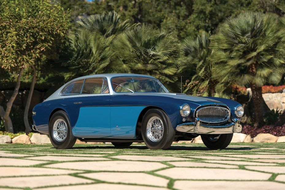This 1952 Cunningham C3 Coupe by Vignale has an estimated value of ...