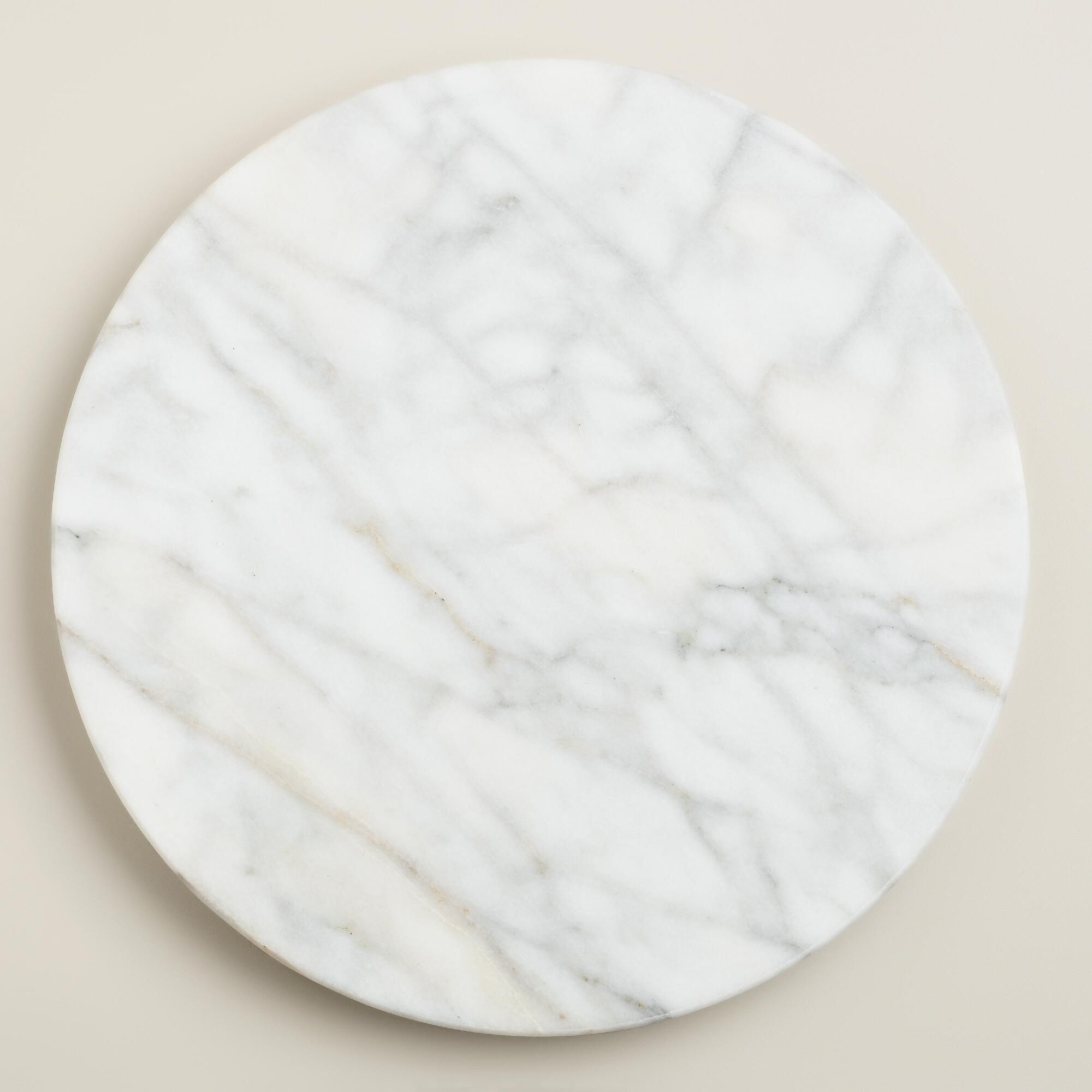 white marble lazy susan world market