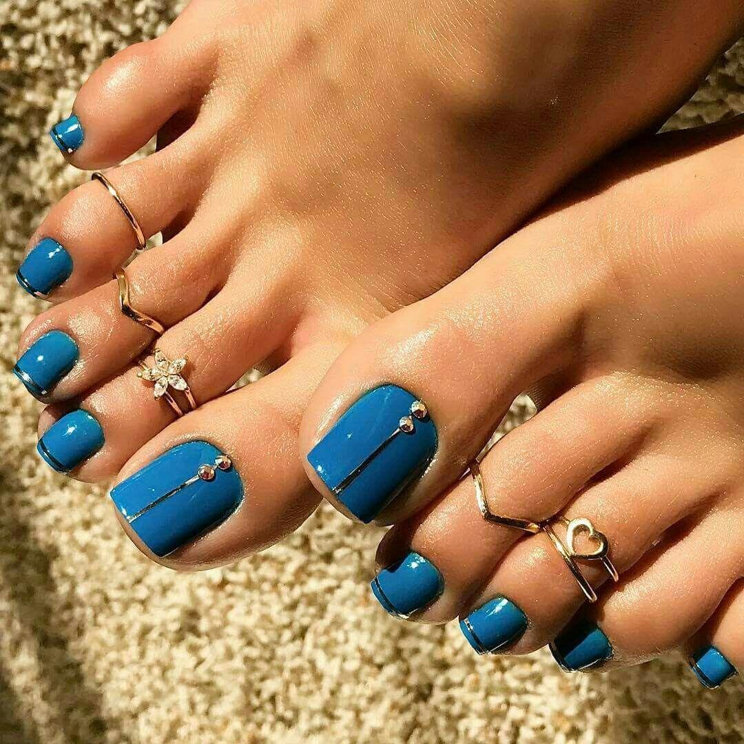 Toenails Toe Rings | Beauty....Head to Toe | Pinterest | Toe rings ...