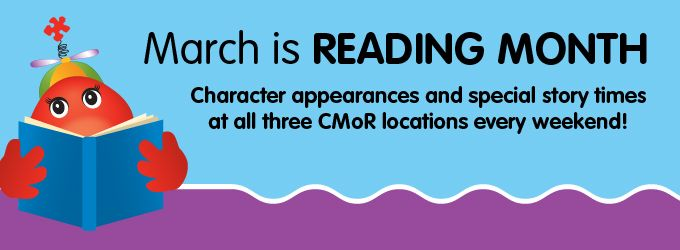 March is Reading Month! | Children's Museum of Richmond