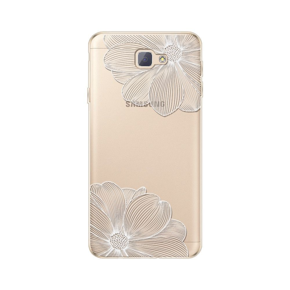 2b2e6311e03 Mandala Pattern Soft Plastic Case For Samsung Galaxy J7 Prime Case On7 2016  Butterfly Girl Silicon Coque Transparent TPU Cover