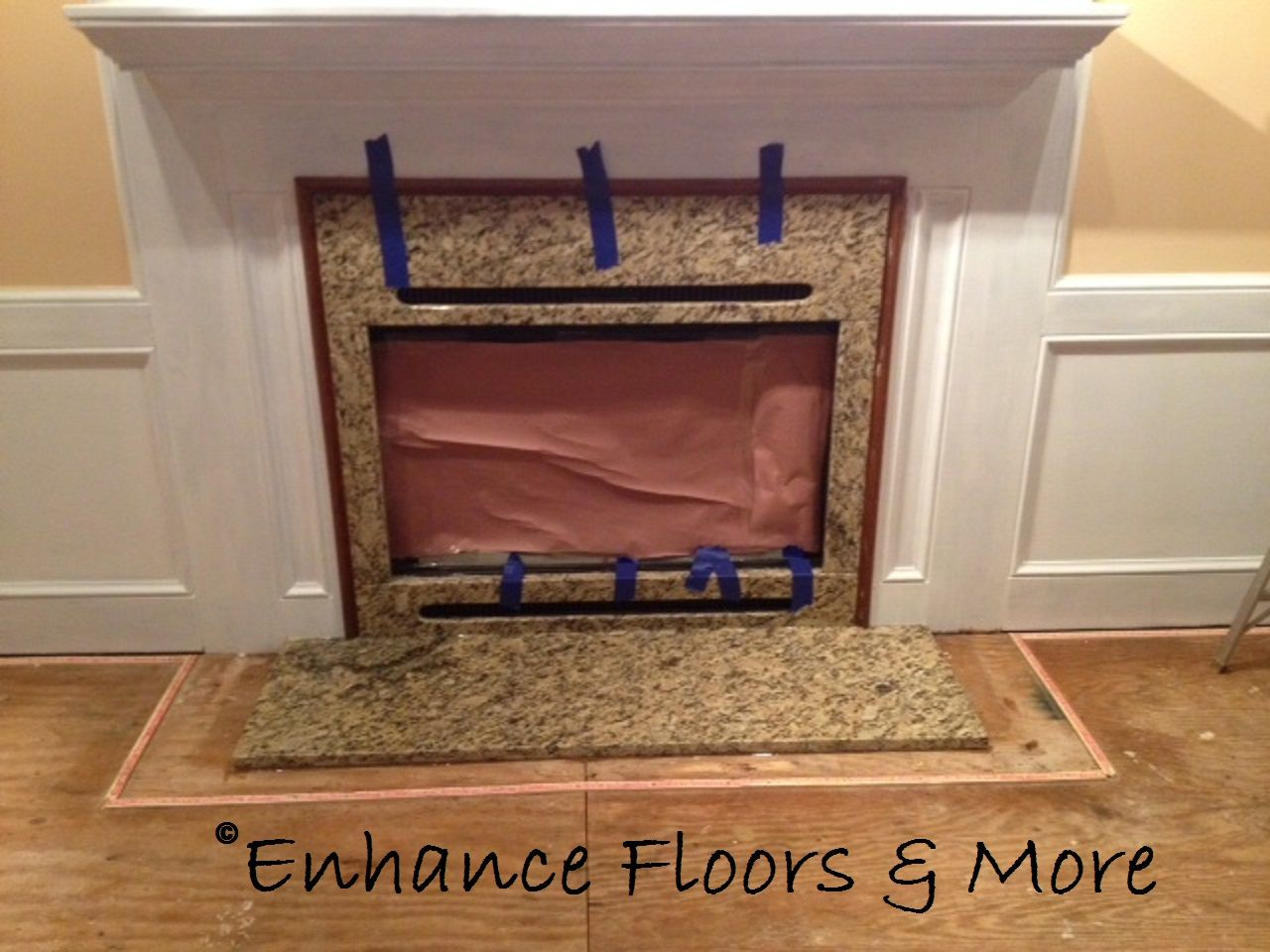 fireplaces galleries details surround fireplace brown ivory granite