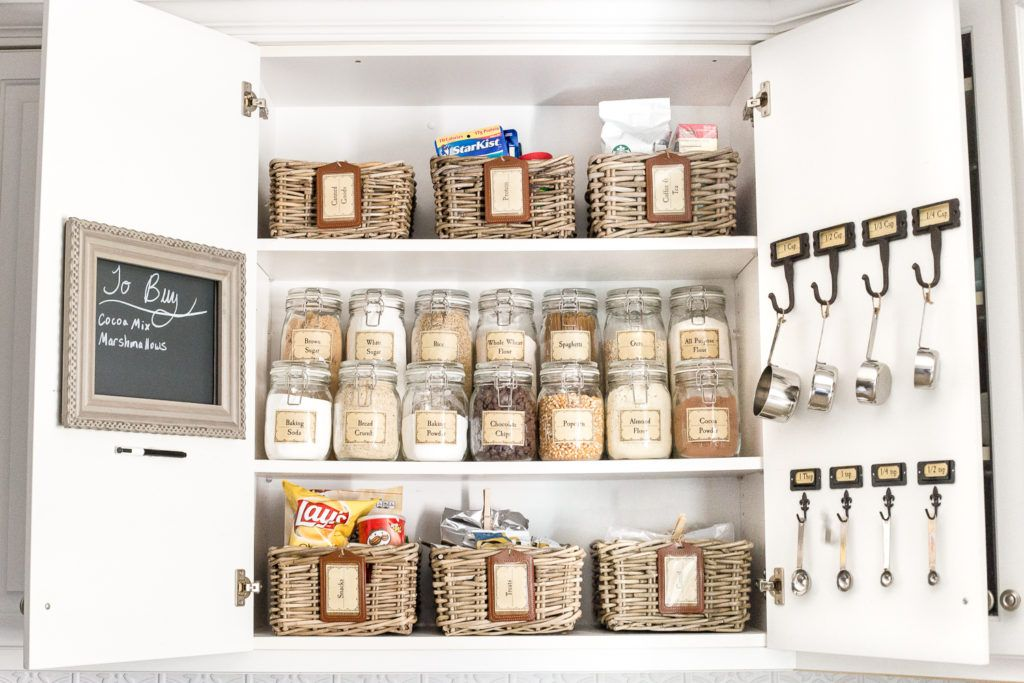 Pantry Cabinet Organization And