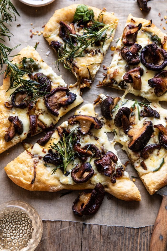 French Onion Mushroom Pizza