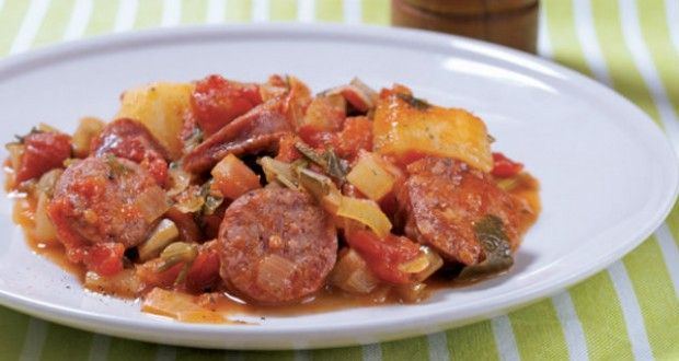 Sausage Hash - Healthy-Diabetic.ca - Recipes and healthy lifestyle choices for people with diabetes!