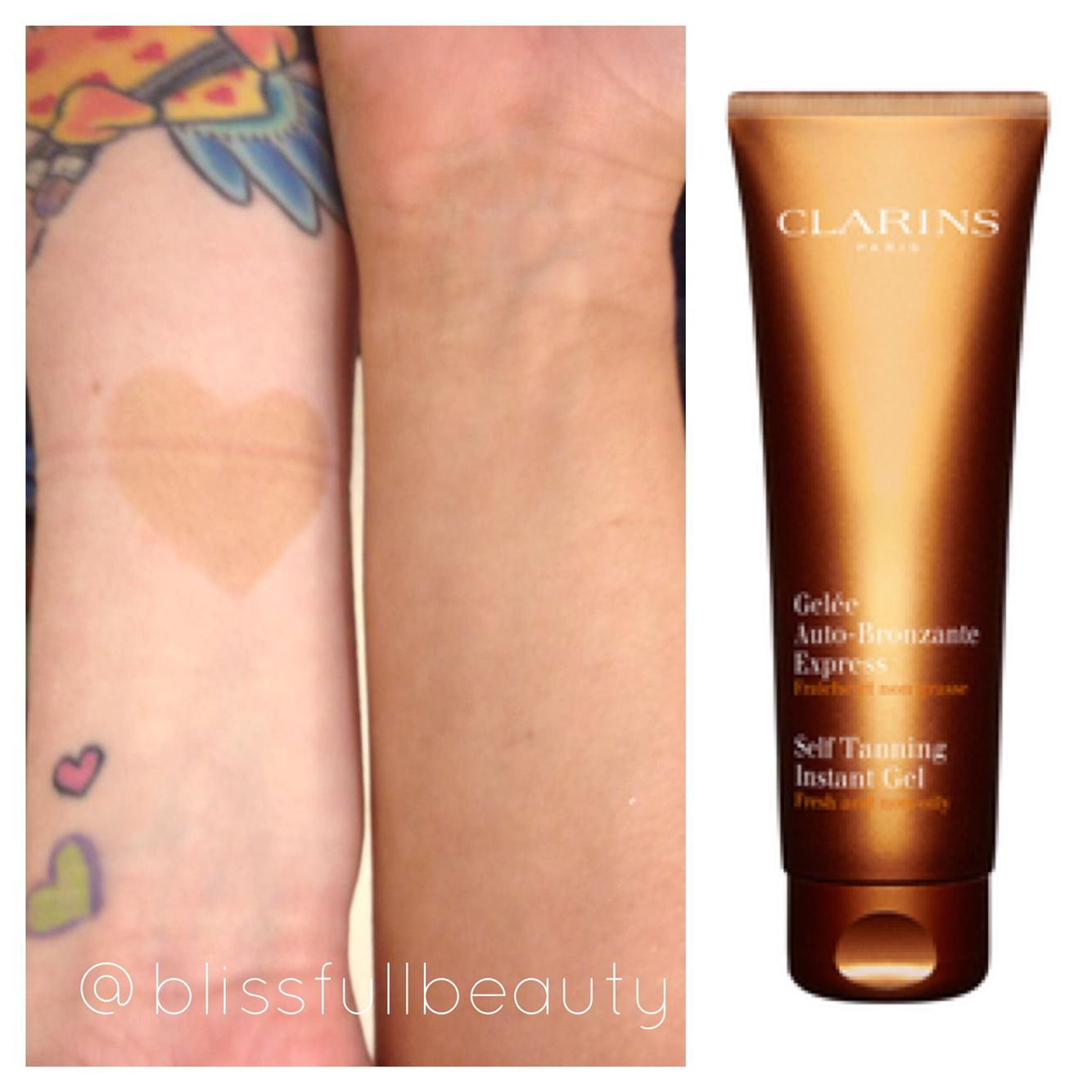 clarins self tanning instant
