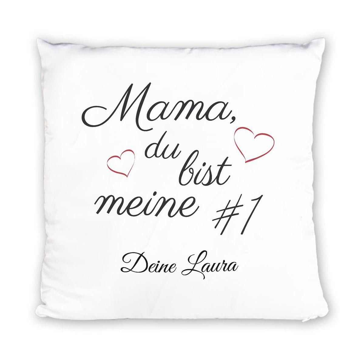 Kissen Mama Du Bist Meine 1 Mit Namen Bed Pillows Pillows