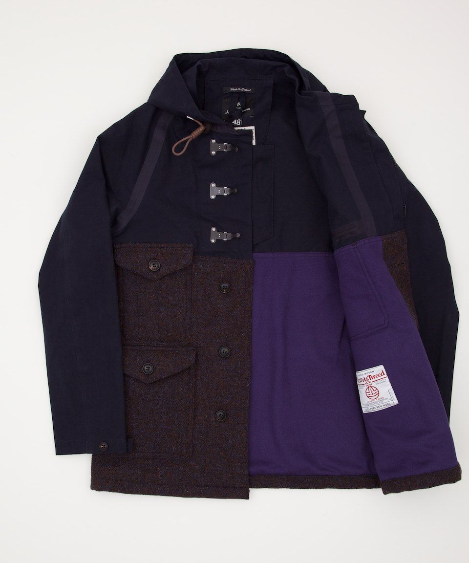 13e0492875b1 Nigel Cabourn Classic Cameraman Jacket - Brown Navy Magnifique ...