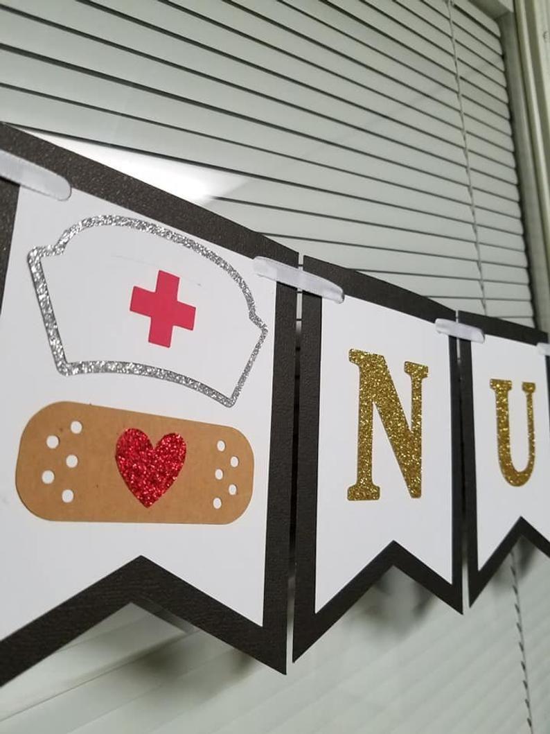 RN Confetti Nursing Graduation Party Decor Medical School Graduation Party Nursing School Nurse Retirement Party Nurse Confetti