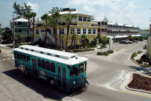 I love the free island trolley. They come by about every twenty minutes and can take you to walking distance from anywhere on the island.