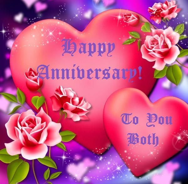 Happy Anniversary To You Both Marriage Marriage Quotes Anniversary Wedding Anniversary Happy