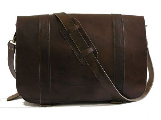 The Men's Leather Messenger Bag | Popular, Modern man and Men's ...