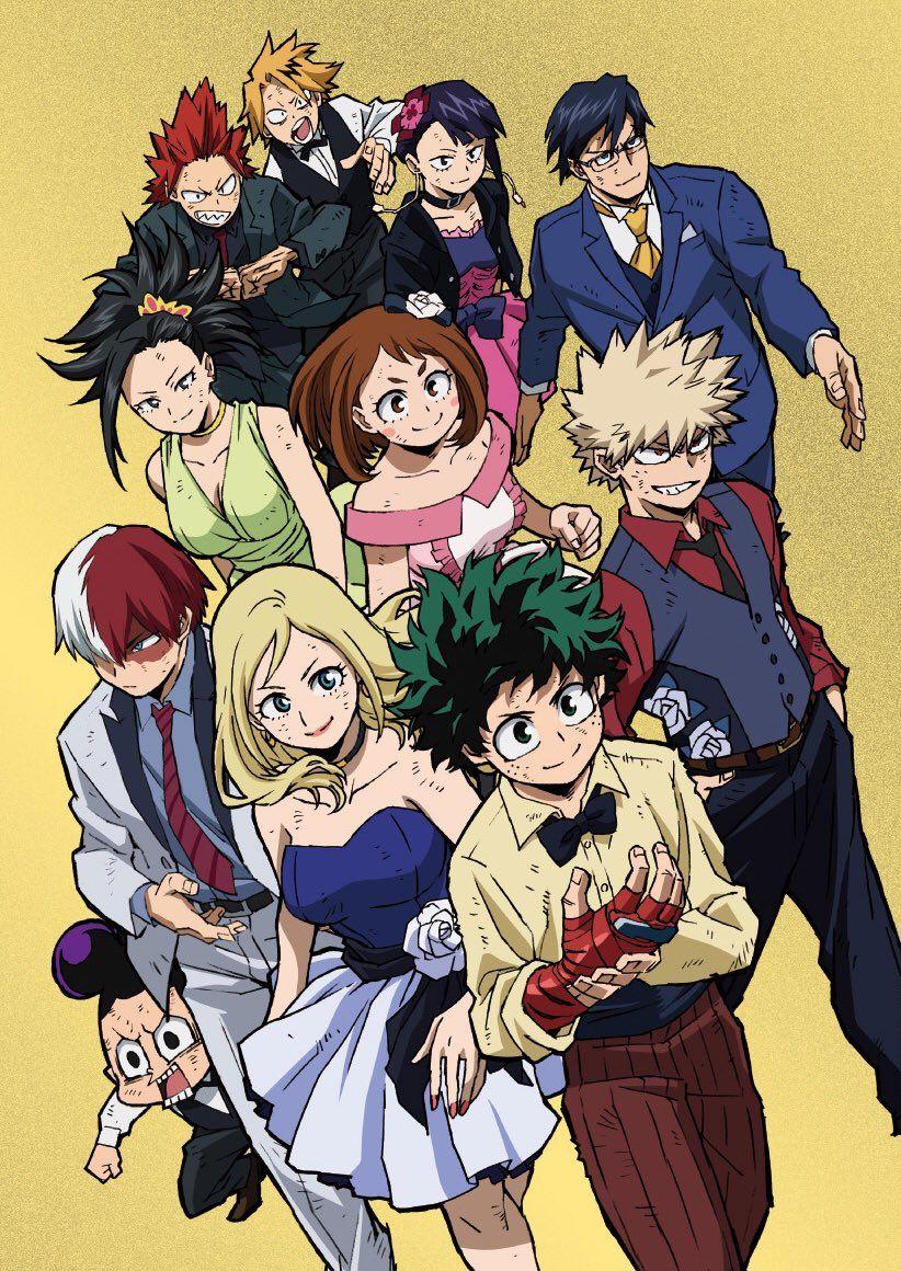 僕のヒーローアカデミア_アニメ公式 heroaca_anime Anime, Personagens de