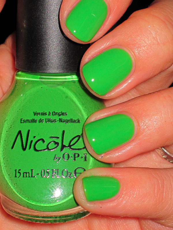 nicole by o.p.i.- one time lime | Nails | Pinterest