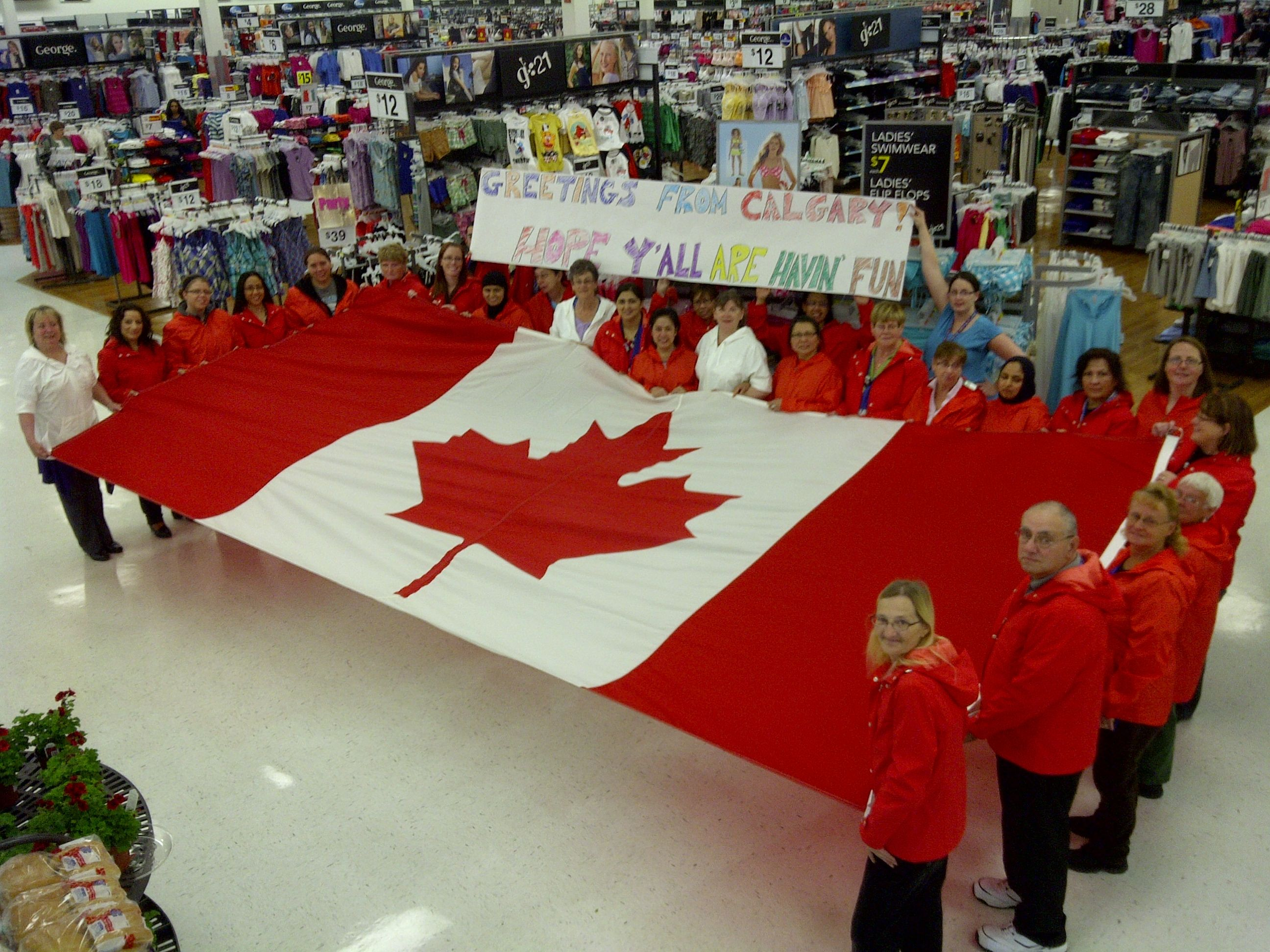 From Store 3012 To All Walmart Delegates Have Fun From Calgary
