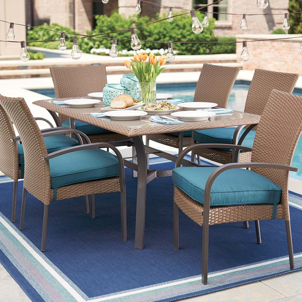 Shop our Patio Furniture Department to customize your