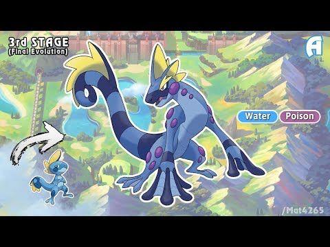 Pokemon Sword And Shield Starters Evolution Gen 8 Fanmade Youtube