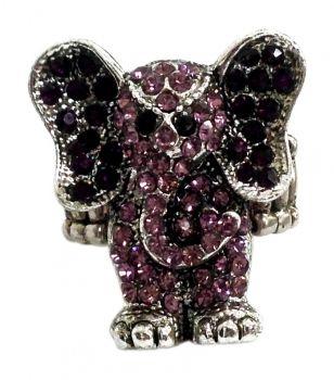 Ring Elefant Rosa
