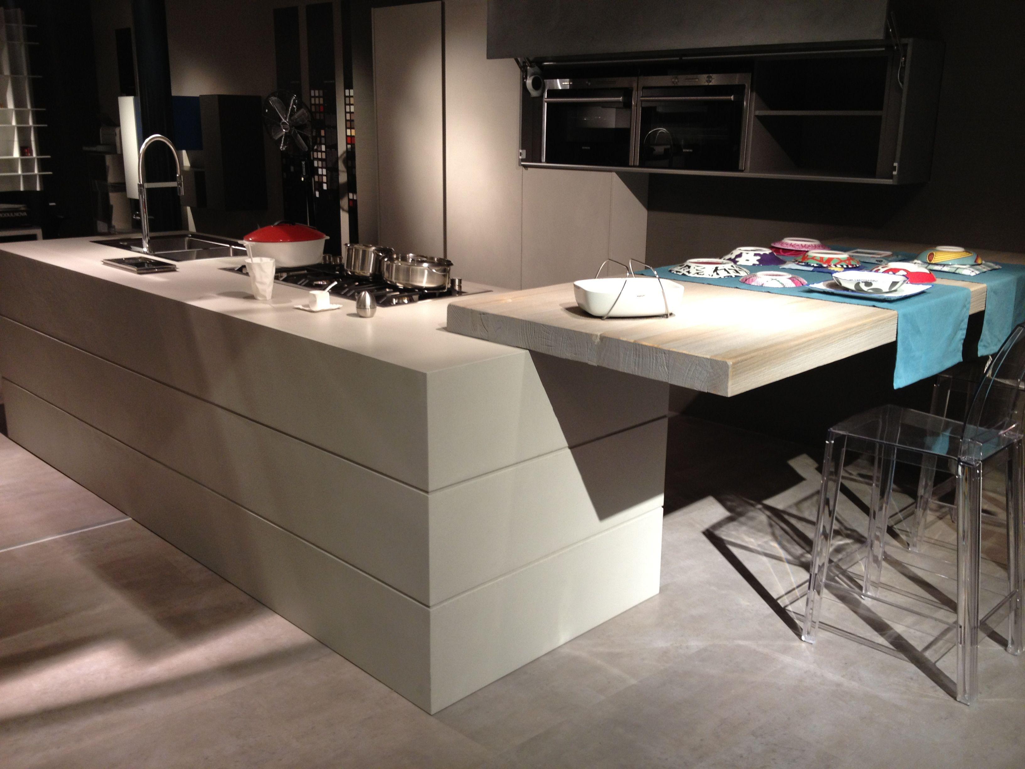 Modulnova Cucina Twenty Cemento Homespiration Kitchen