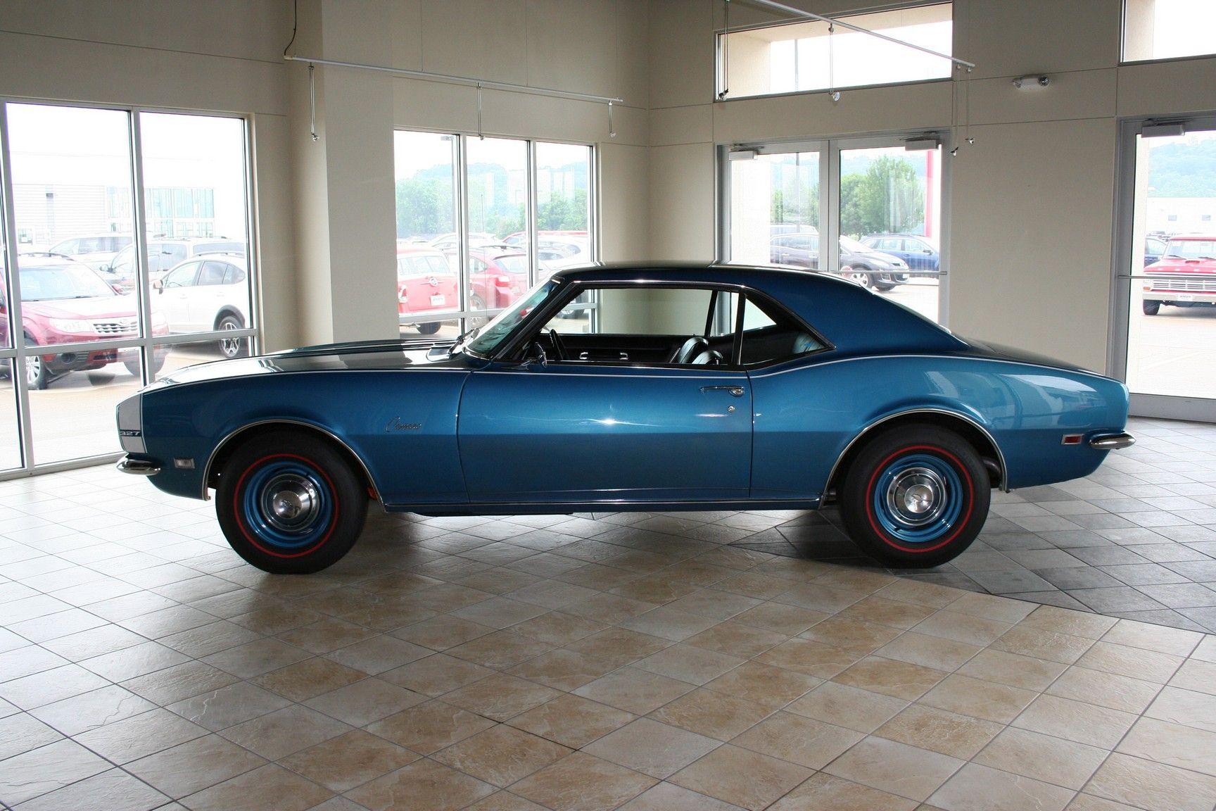 1968 Chevrolet Camaro 2 Door For More Information Call 712 255 3000 Veteran Car Camaro Chevrolet Camaro