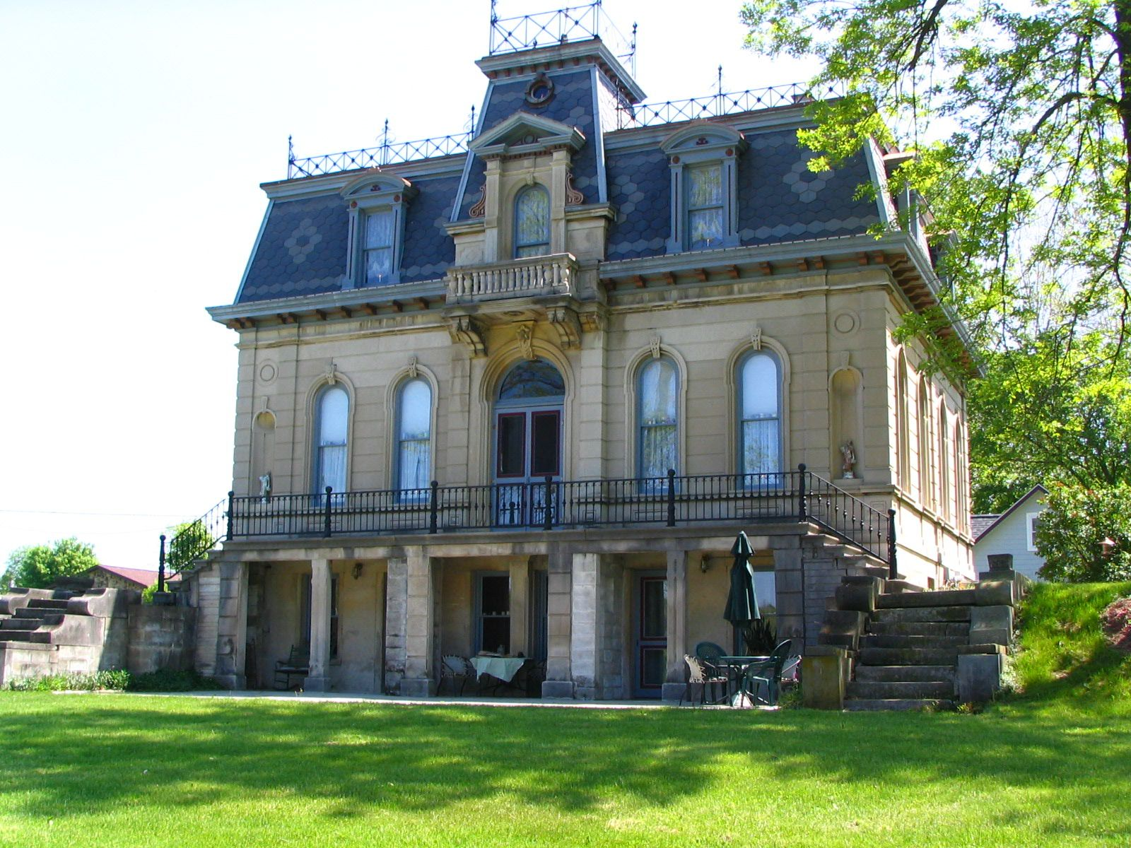 Architectural styles of southern indiana second empire for House architecture styles