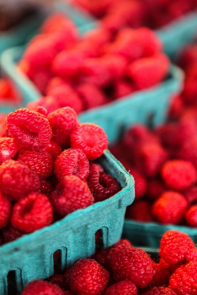 Raspberries - red