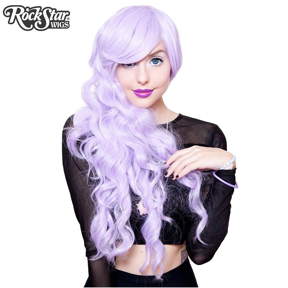 Gothic Lolita Wigs® <br> Classic Wavy Lolita™ Collection - Lavender -00041