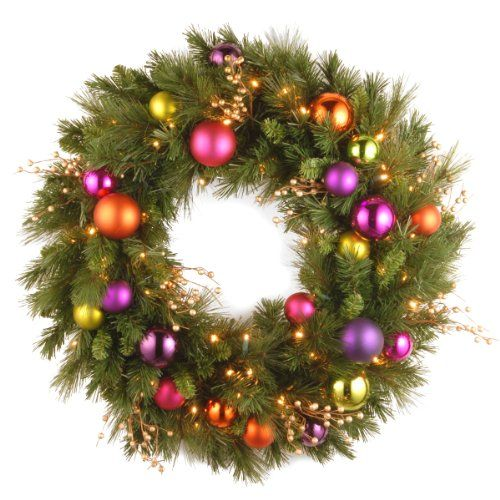 Battery Operated Christmas Wreaths for the holidays - outdoor christmas decorations wholesale
