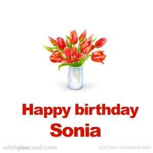Happy Birthday Sonia Buon Compleanno Auguri Di Buongiorno