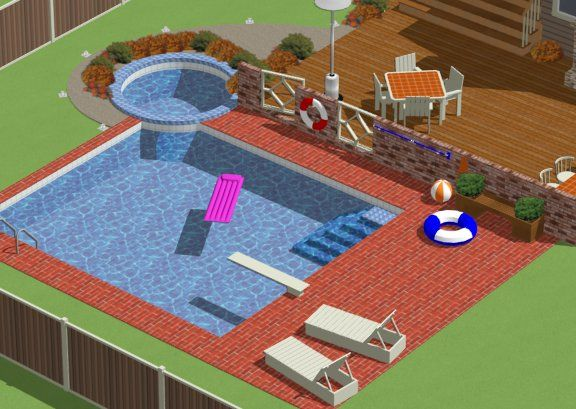 How To Create A Swimming Pool Chief Architect Software Help
